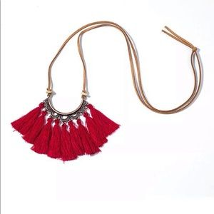 Jewelry - New! Beautiful tassel necklace!
